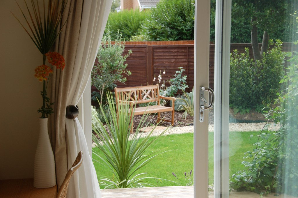 Master bedroom leading onto verandah