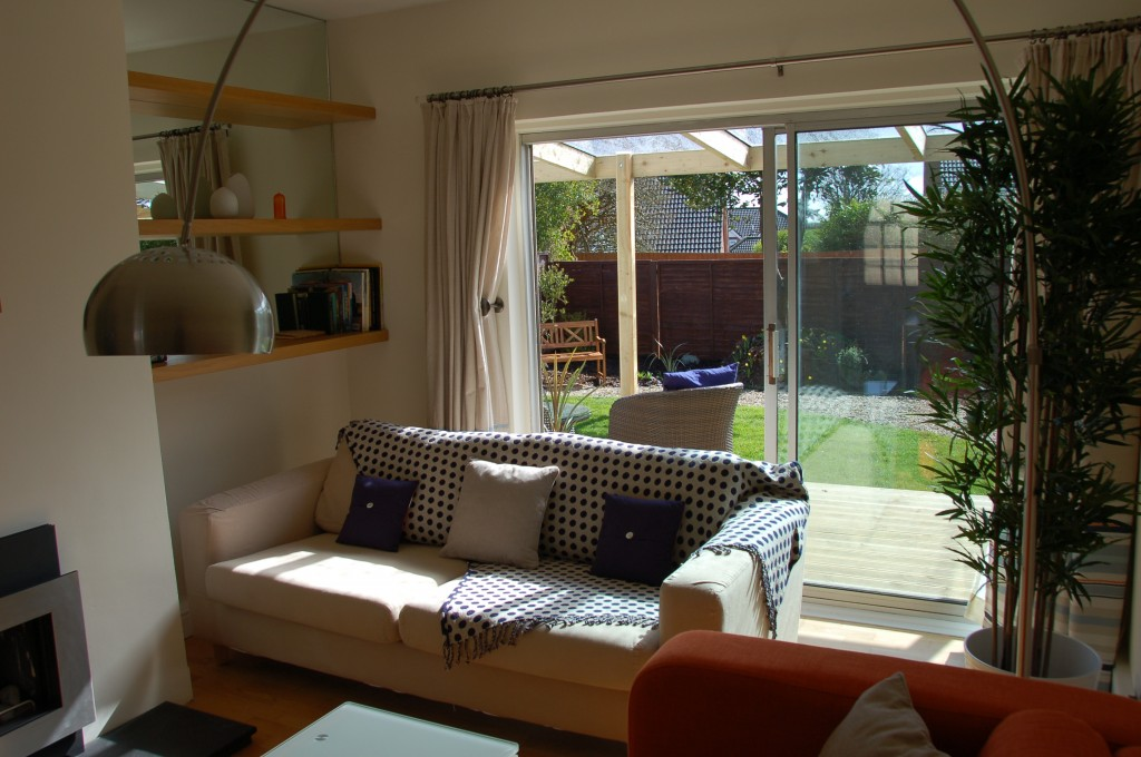 Living room at Thistleboon